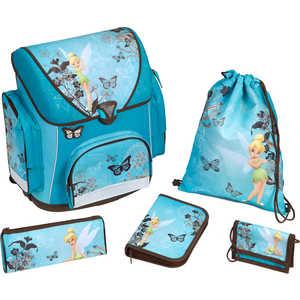 Набор школьный для девочки из 5 предметов Scooli Fairies (FA13825)