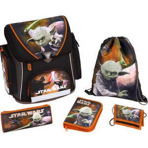 Набор школьный для мальчика из 5 предметов Scooli Star Wars (SW13825)* ранец scooli scooli ранец 13823 star wars