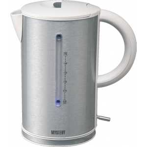Фотография товара чайник электрический Mystery MEK-1614 серый (451730)