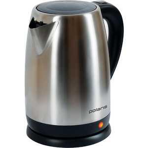Чайник электрический Polaris PWK 1710CA серебристый/черный