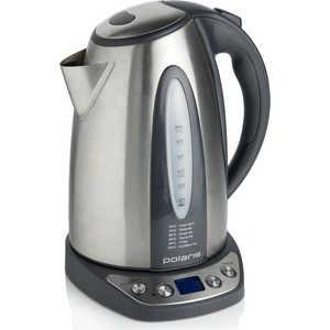 Чайник электрический Polaris PWK 1783CAD серебристый/черный чайник электрический polaris pwk 1299ccr весна