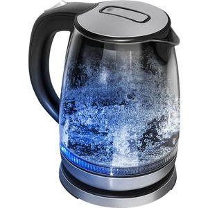 Чайник электрический Redmond RK-G127 черный чайник электрический rolsen rk 2723p синий page 2