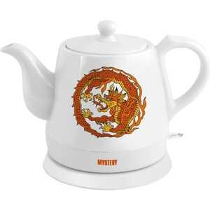 Чайник электрический Mystery MEK-1624 белый электрический чайник mystery mek 1638