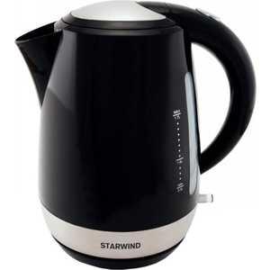 Чайник электрический StarWind SKP4622 черный чайник электрический starwind skp2215