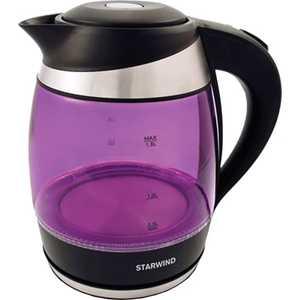 Чайник электрический StarWind SKG2217 фиолетовый/черный все цены