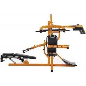 Многофункциональный тренажер Powertec с силовой скамьей желтый WB-MS14