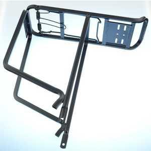 Багажник Stark 26 CD-17 алюминий профильные трубы с прижимом черный (VZ202001)