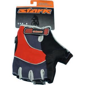 Велоперчатки Stark NC-613 открытые пальцы гелевые вставки доп швы красно-серые р-р М (VZ204003)