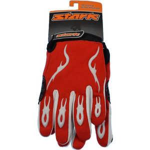 Велоперчатки Stark NC-703 закрытые пальцы красно-черные р-р М (H000003777)