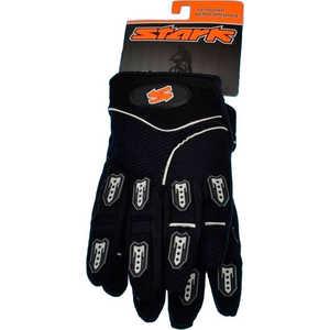 Велоперчатки Stark NC-709 закрытые пальцы пласт вставки вентил микрофибра черн р-р М (VZ204027)