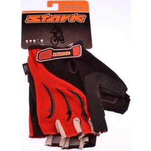 Велоперчатки Stark NC-833 открытые пальцы красно-серые р-р L (VZ204060)