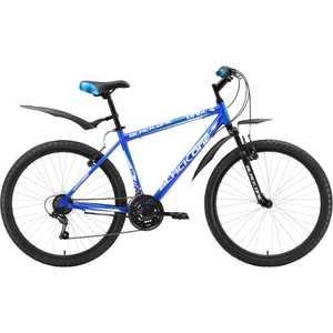 Велосипед Black One Onix Alloy сине-голубой 18 (H000003701)