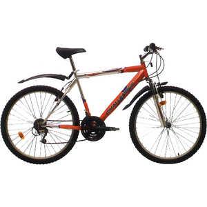 Велосипед Challenger Agent серебристо-красный 18 (H000003678)