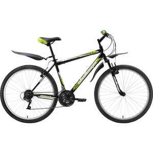 Велосипед Challenger Agent черно-зеленый 20 (H000003682)