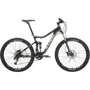 Велосипед Stark 2015 Teaser Trail 650B 18черно-зеленый (H000001754)