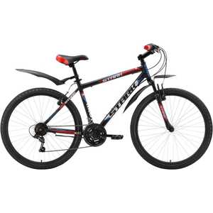 Велосипед Stark 2016 Outpost черно-красный 18 (H000003968)