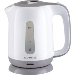 Чайник электрический Supra KES-1724 aucma aucma адк 1800d39 1 7l304 электрический чайник из нержавеющей стали двойной анти ошпаривают