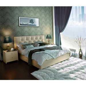 Кровать Аскона Marlena 180х200 к/з Экотекс 109 (Без основания)