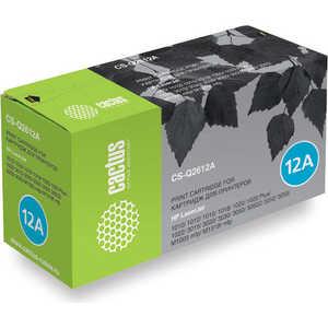 Картридж Cactus Q2612A (CS-Q2612AS) 2pcs alzenit oem new for hp 1010 1012 1015 1020 3015 3020 3030 charge roller q2612a printer parts