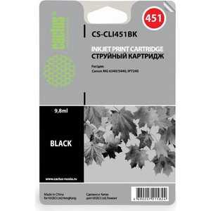 Картридж Cactus CLI-451BK (CS-CLI451BK) объектив honeywell cаla33120f14m2