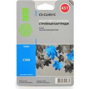 Картридж Cactus CLI-451C (CS-CLI451C) картридж cactus cli 426c m y cs cli426c m y