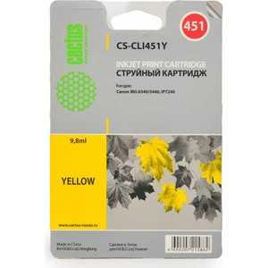 Картридж Cactus CLI-451Y (CS-CLI451Y) тонер cactus cs cli451y