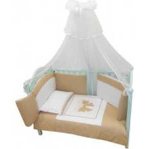Комплект в кровать Andy and Helen Fiocco (декор- бантик) 7 предметов крем 6/20V3R52 7P LB C helen williams paul and virginia