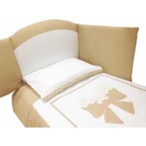 цена на Комплект в кровать Andy and Helen Fiocco (декор- бантик) 7 предметов крем 6/20V3R52 7P SB C