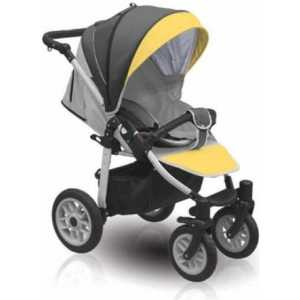 Коляска прогулочная Camarelo Eos (02) серый/желтый EOS/02 eos