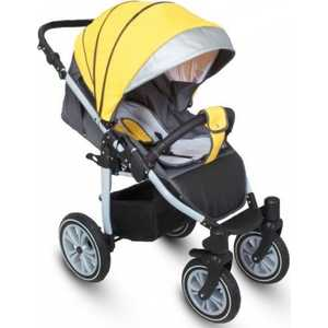 Коляска прогулочная Camarelo Eos (09) желтый/серый EOS/09 коляска camarelo eos 05 темно синий голубой