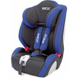 Автокресло Sparco F 1000K (9-36 кг) чёрный/синий SPC/DK-350 BK/BL