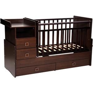 Кровать-трансформер Антел Ульяна-4 маятник комод 2 ящика венге кровать трансформер антел ульяна 4 маятник комод 2 ящика бук