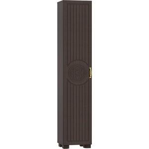 Стеллаж Compass МБ-3 венге темный орех шоколадный