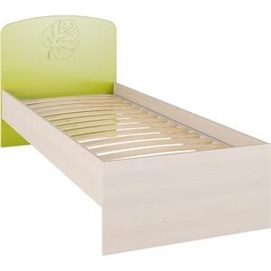 Кровать без ламелей Compass МДМ-11 береза снежная лайм