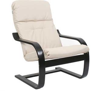 Кресло Мебель Импэкс Сайма экокожа (018.001) венге/бежевая