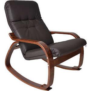Кресло-качалка Мебель Импэкс Сайма экокожа (018.002) шоколад