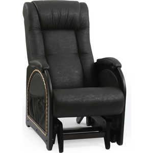 Кресло-качалка Мебель Импэкс Модель 48 Венге Дунди 109 тумбочка мебель трия прикроватная токио пм 131 03 см дуб белфорт венге цаво