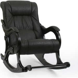 Кресло-качалка Мебель Импэкс МИ Модель 77 каркас венге с лозой,обивка Дунди 108 кресло качалка мебель импэкс ми модель 5 каркас венге с лозой обивка malta 15а