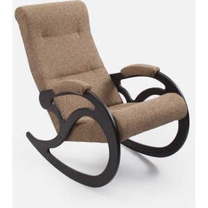Кресло-качалка Мебель Импэкс МИ Модель 5 каркас венге с лозой,обивка Malta 03А кресло качалка мебель импэкс ми модель 5 каркас венге с лозой обивка malta 15а