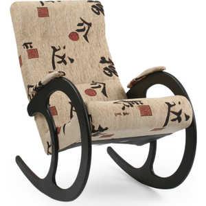 Кресло-качалка Мебель Импэкс Модель 3 Венге Malta Токио мебель импэкс модель 81 vegas marfil 3