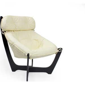Кресло Мебель Импэкс МИ модель 11 венге (каркас венге обивка Dundi 112) кресло мебель импэкс ми модель 11 венге каркас венге обивка dundi 112