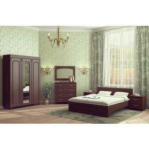 Спальня Compass Элизабет 1 орех темный спальня compass элизабет 1 орех темный