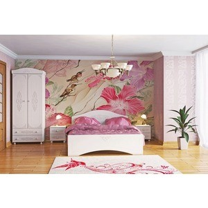 Спальня Compass Ассоль 3 белое дерево