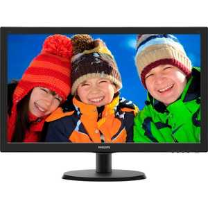 Монитор Philips 223V5LHSB монитор aoc 21 5 g2260vwq6 g2260vwq6