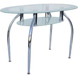 Стол МС мебель GT-305 белый мс мебель обеденный стол трансформер мс мебель мини оранжевый