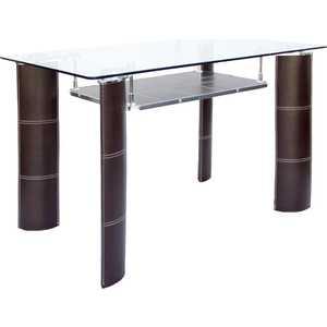 Стол МС мебель GT-308 коричневый мс мебель обеденный стол трансформер мс мебель стандарт серебро 3z yqhia