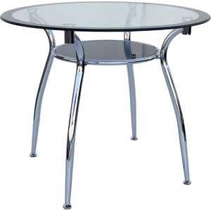 Стол МС мебель W-01 черный мс мебель обеденный стол трансформер мс мебель стандарт серебро 3z yqhia