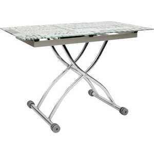 Стол МС мебель 3061 газета мс мебель обеденный стол трансформер мс мебель стандарт серебро 3z yqhia