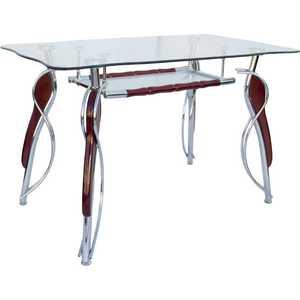 Стол МС мебель GM-158 мс мебель обеденный стол трансформер мс мебель стандарт серебро 3z yqhia