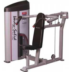 Жим Body Solid Вертикальный сидя с весовым стеком 140 кг (S2SP-3)